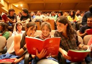 Estudiantes en la Universidad de Sevilla