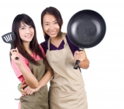 Spanish and cooking workshop / Taller de español y cocina