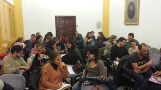 En pareja o grupo, los asistentes participaron activamente en los talleres de 'Four encounters'