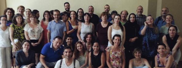 Casi 40 personas, 14 países, diversas nacionalidades e idiomas y un nexo común: la enseñanza de ELE