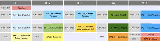 horarios enele 2016