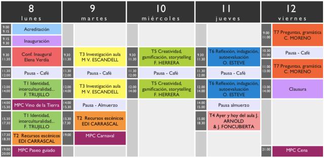 desarrollo-profesional-en-ele-enele-2019-HORARIOS